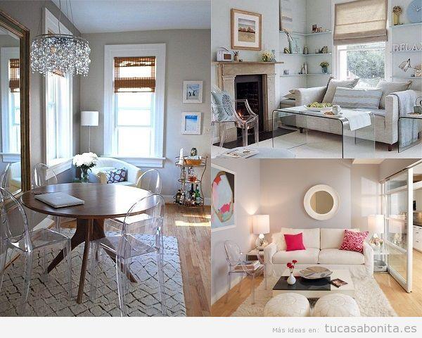 Consejos amueblar y decorar sala de estar pequeña 10