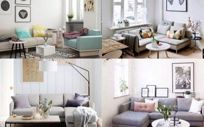 Consejos para amueblar y decorar de salas de estar pequeñas