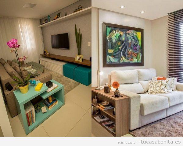 Consejos amueblar y decorar sala de estar pequeña 6
