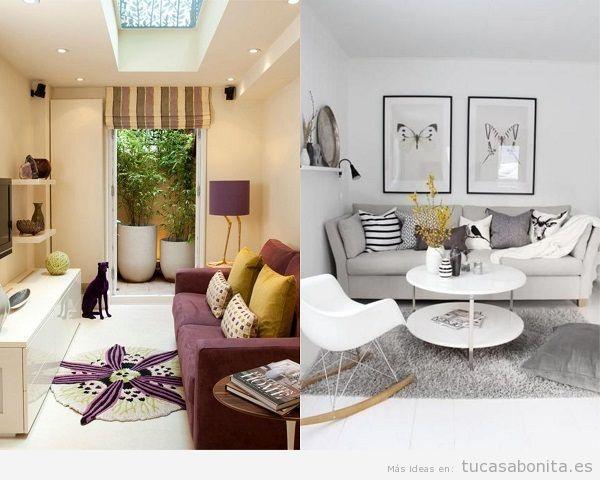 Consejos amueblar y decorar sala de estar pequeña 3