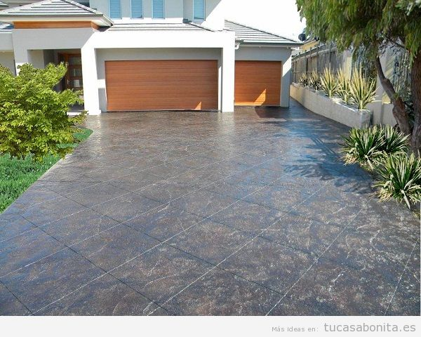 Ideas y trucos para decorar tu casa de estilo moderna o - Pavimentos exteriores antideslizantes ...