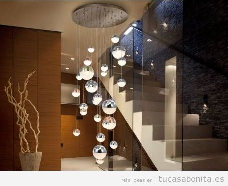 10 lámparas colgantes modernas tendencia 2018