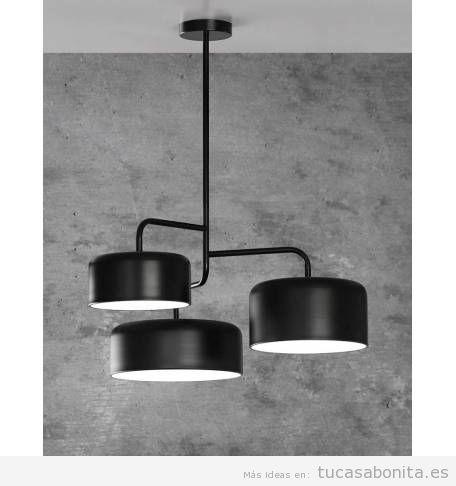 2 lámparas colgantes modernas tendencia 2018