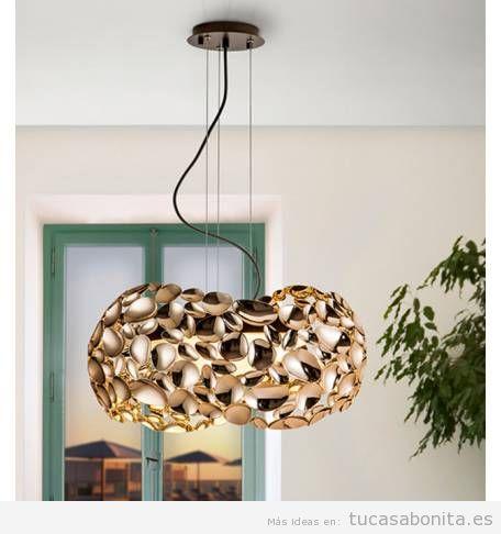 3 lámparas colgantes modernas tendencia 2018