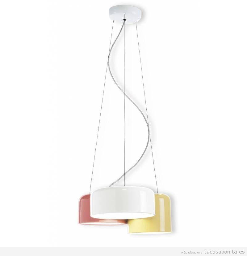 4 lámparas colgantes modernas tendencia 2018