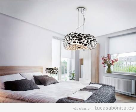 Tendencias en lamparas colgantes 2018 tu casa bonita - Lamparas modernas para dormitorio ...
