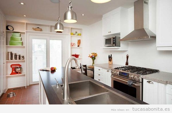 Ideas y trucos para decorar tu casa de estilo moderna o - Downlight cocina led ...