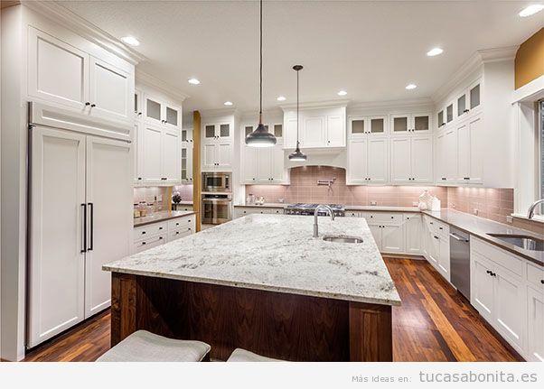 La mejor iluminaci n en la cocina con downlights led empotrados tu casa bonita - Led para cocina ...
