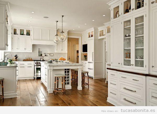 La mejor iluminación en la cocina con downlights LED empotrados - Tu ...