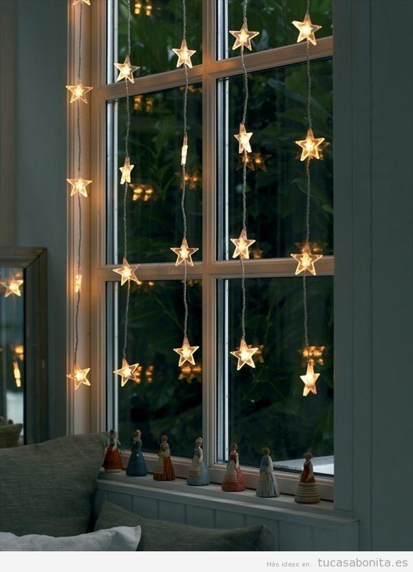 Luces de Navidad interior de casa elegantes 2