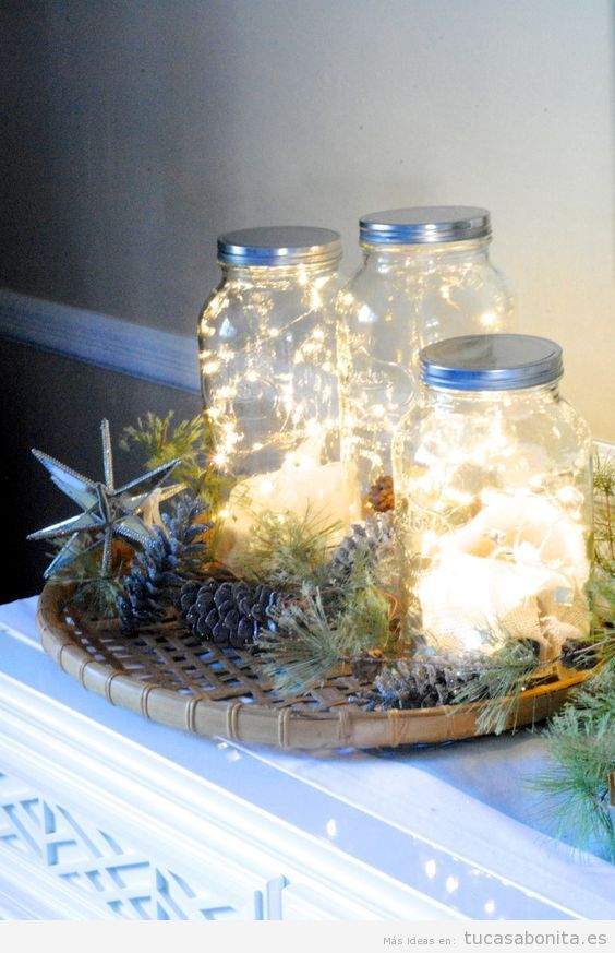 Luces de Navidad interior de casa elegantes 3