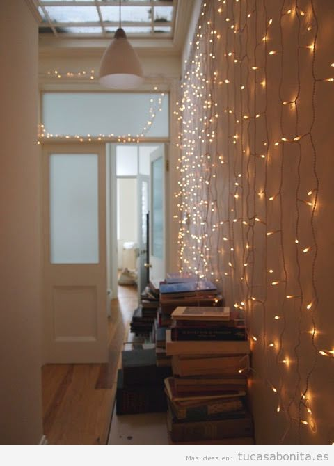 Luces de Navidad interior de casa elegantes 4