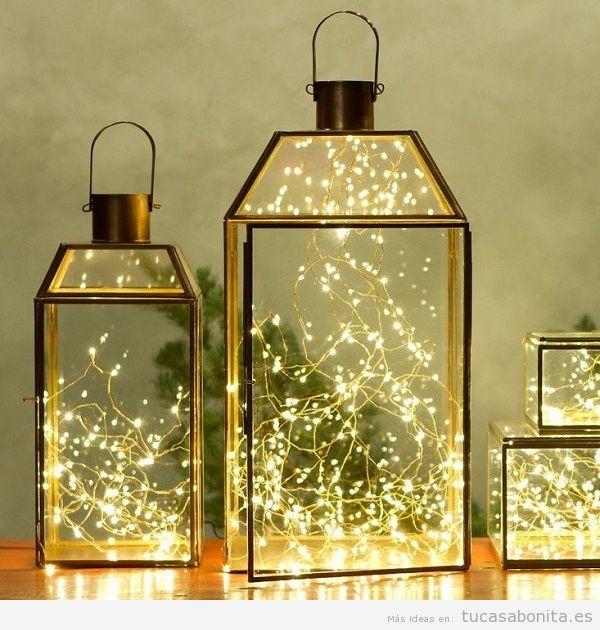 Luces de Navidad interior de casa elegantes 5