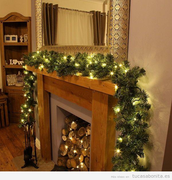 Luces de Navidad interior de casa elegantes 7