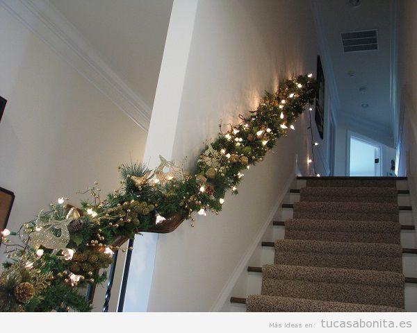 Luces de Navidad interior de casa elegantes 8