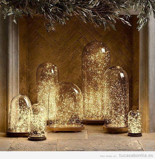 Luces de Navidad interior de casa elegantes 9