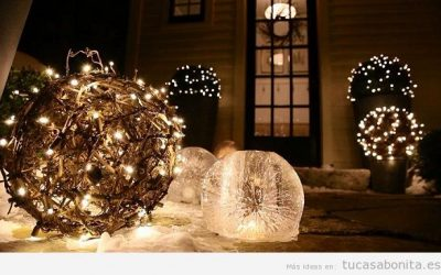 Luces de Navidad elegantes para decorar tu casa