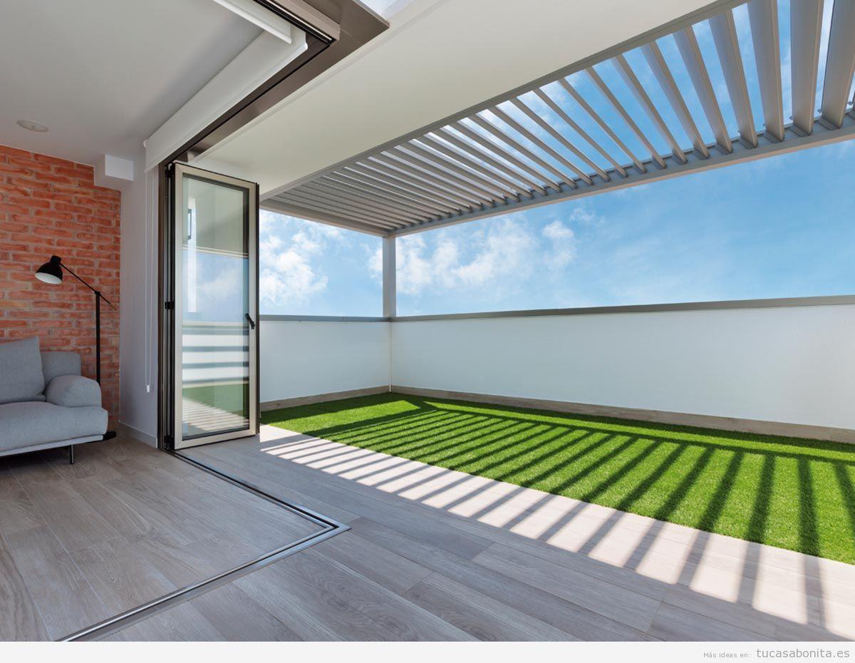 Pérgola bioclimática, tu espacio ideal en el jardín - Tu casa Bonita