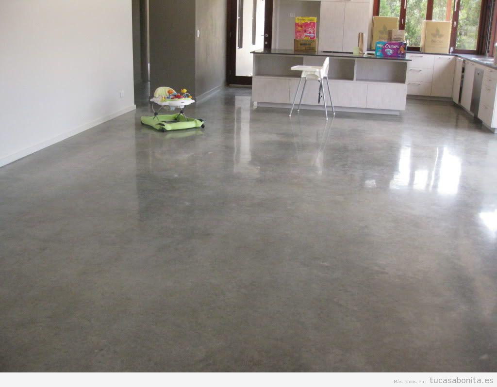 Suelos de cemento pulido top de interior interiores pisos - Hormigon pulido para interiores ...