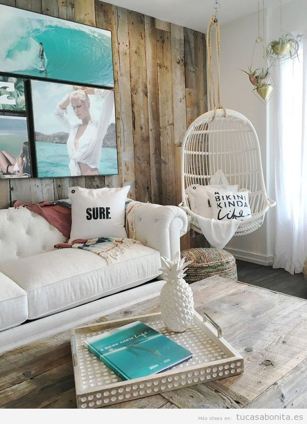 Consejos para decorar un apartamento en la playa