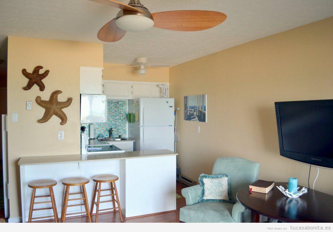 Ideas y trucos para decorar tu casa de estilo moderna o - Decorar apartamento playa pequeno ...