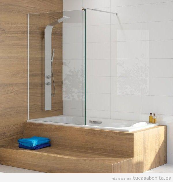 Decora tu baño con una mampara para bañera