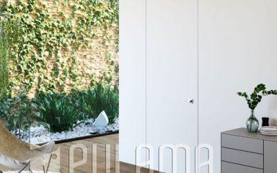 Puertas ocultas sin marco, un diseño moderno y actual para interiores