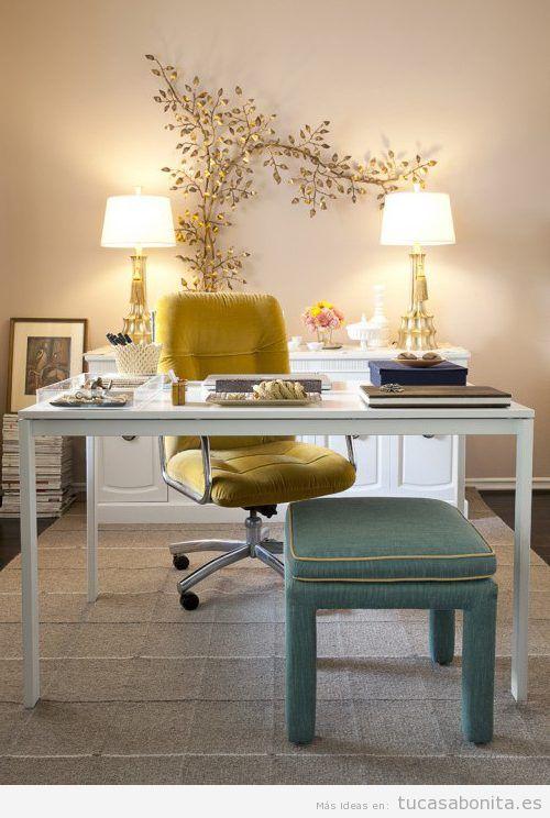Tu despacho en casa tu casa bonita for Diseno de despachos