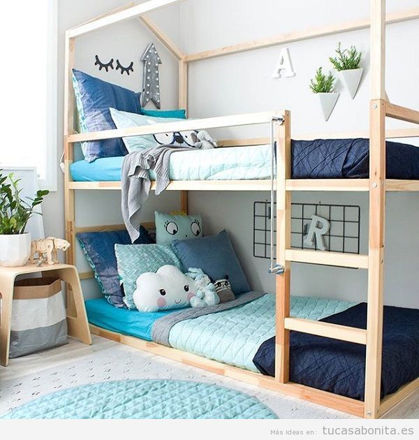 Literas bonitas y originales para habitaciones infantiles