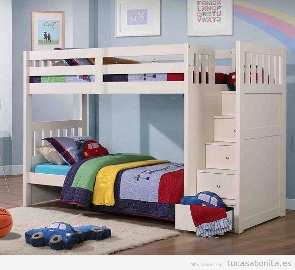 Literas bonitas y originales para habitaciones infantiles 10
