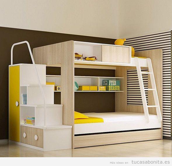 Literas bonitas y originales para habitaciones infantiles 12