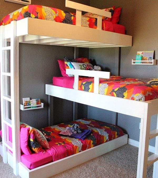 Las literas más chulas para la habitación de tus hijos!