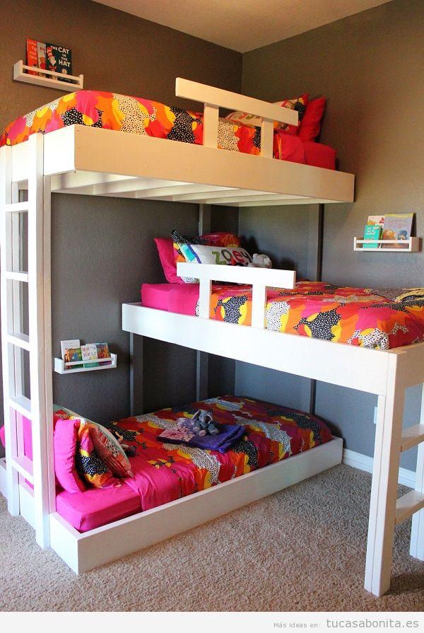 Literas bonitas y originales para habitaciones infantiles 13