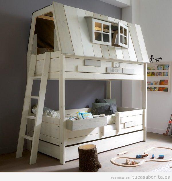 Literas bonitas y originales para habitaciones infantiles 2
