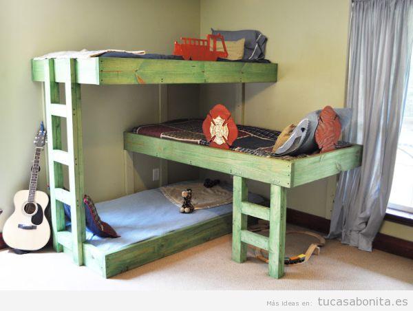 Literas bonitas y originales para habitaciones infantiles 3