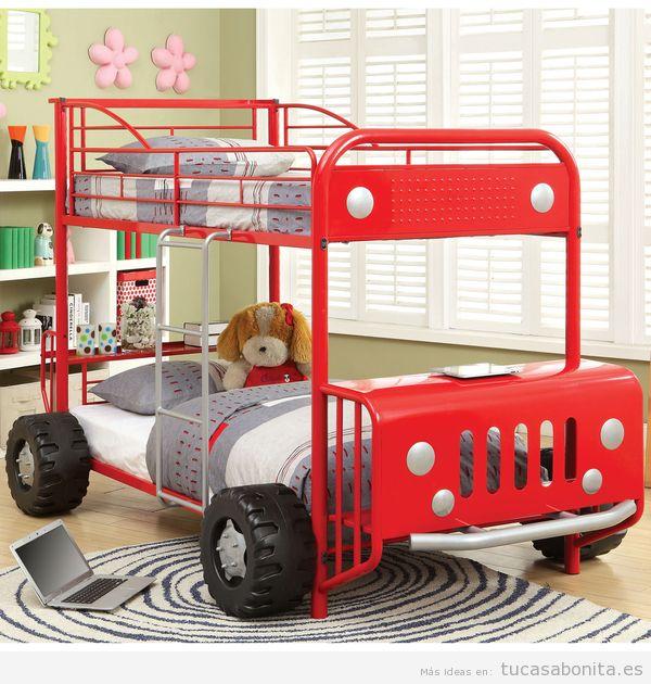 Literas bonitas y originales para habitaciones infantiles 4