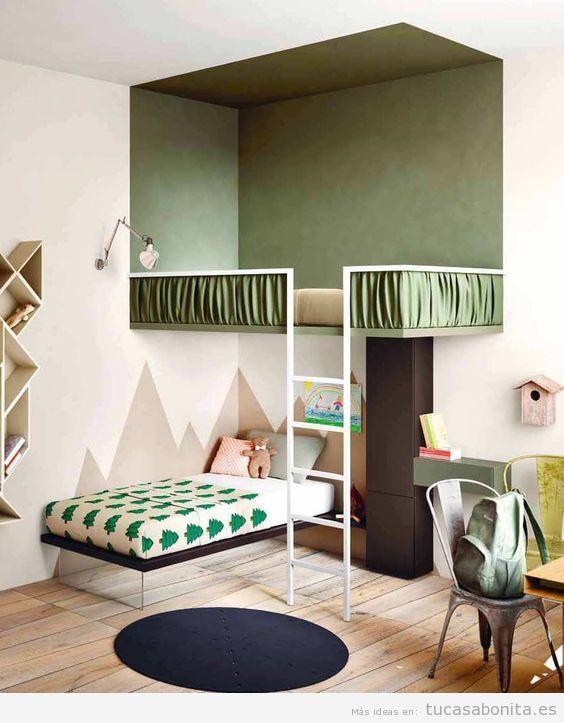 Literas bonitas y originales para habitaciones infantiles 5