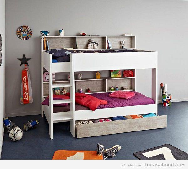 Literas bonitas y originales para habitaciones infantiles 7