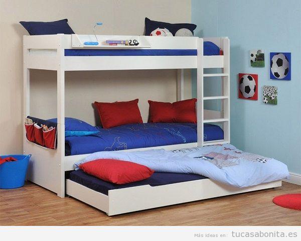 Literas bonitas y originales para habitaciones infantiles 8