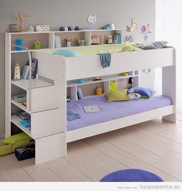 Literas bonitas y originales para habitaciones infantiles 9