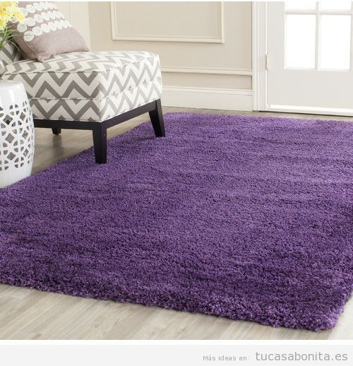 Tendencia decoración casa color pantone año 2018 ultra violet 6