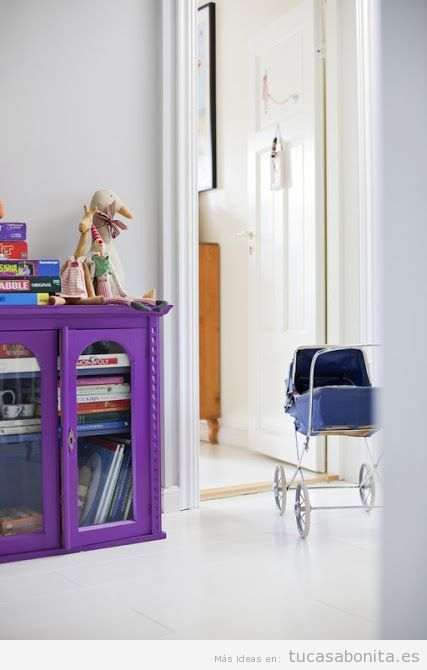 Tendencia decoración casa color pantone año 2018 ultra violet 7