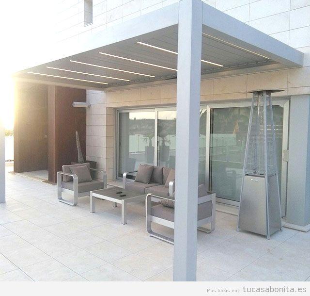 Pérgolas bioclimáticas para terraza 2