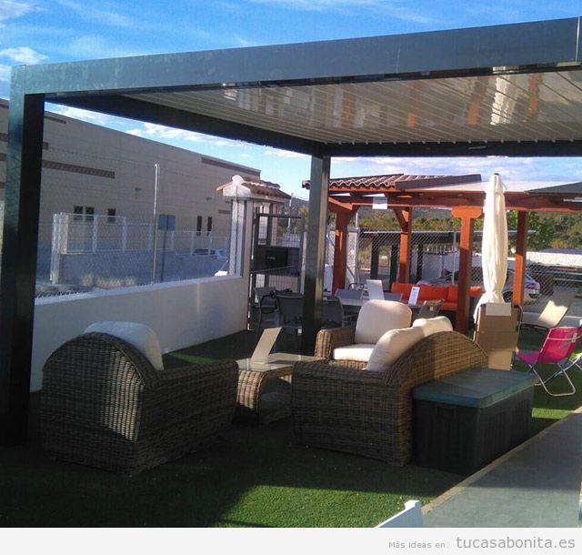 Pérgolas bioclimáticas para terraza 3
