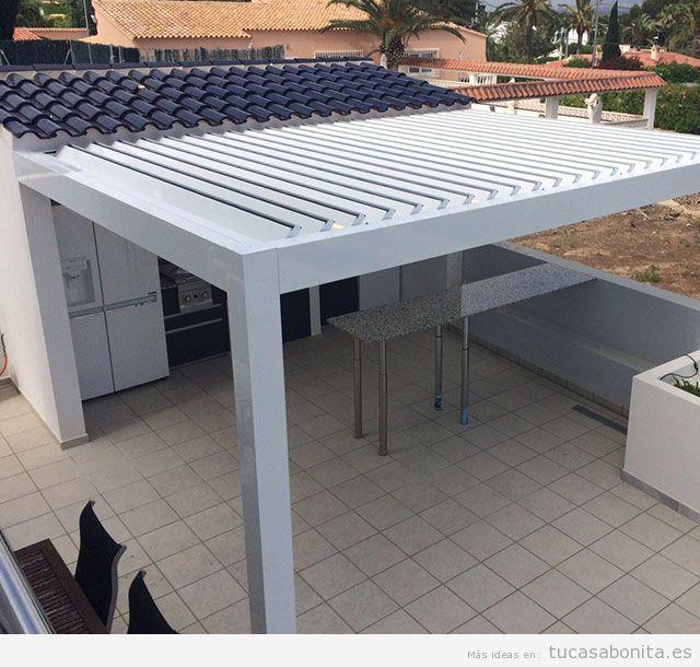 Pérgolas bioclimáticas para terraza 4