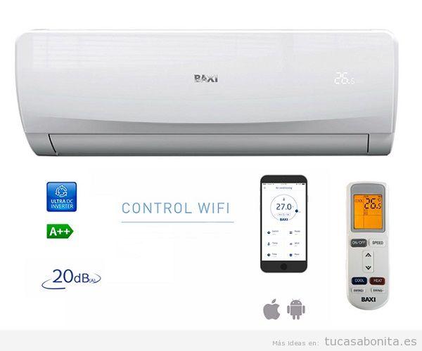 Aire acondicionado Baxi con Wifi