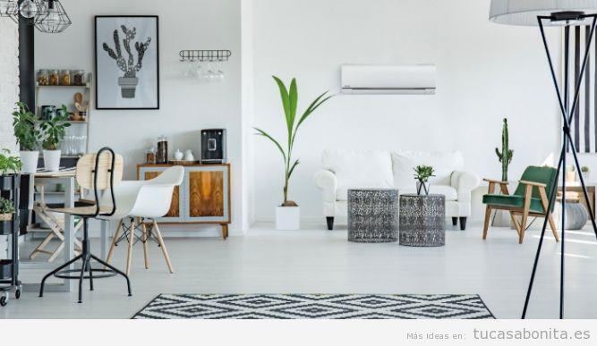 Aire acondicionado en el salón