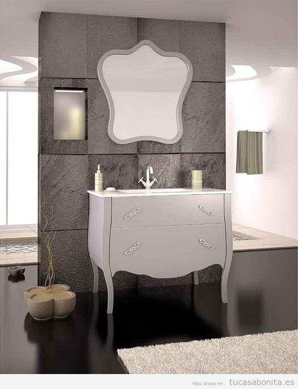 Muebles de baño vintage isabelino