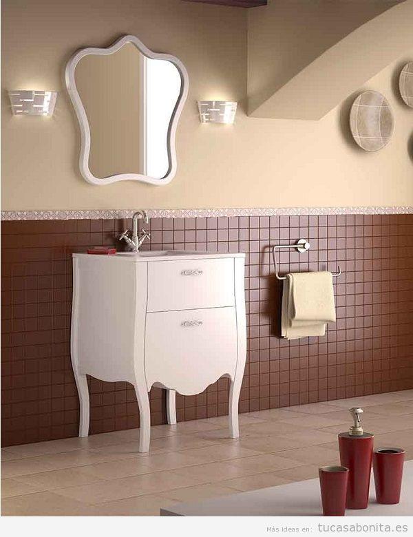 Muebles de baño vintage isabelino 2