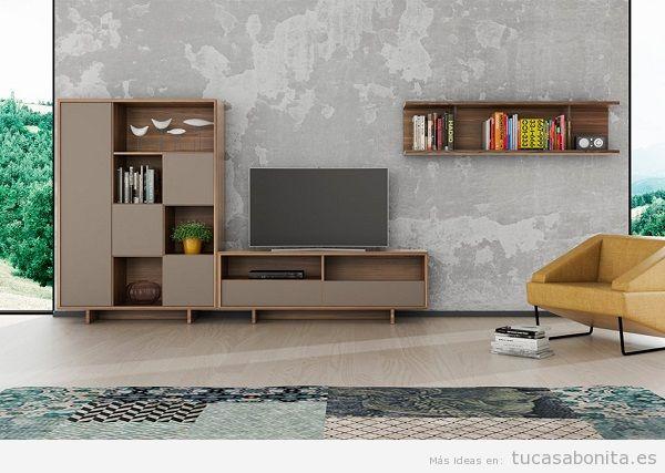 Muebles salón comedor de diseño 9